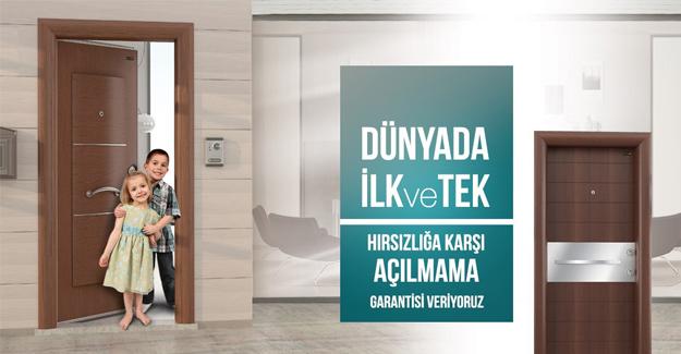 Türkiye'nin gururu Sur çelik kapı
