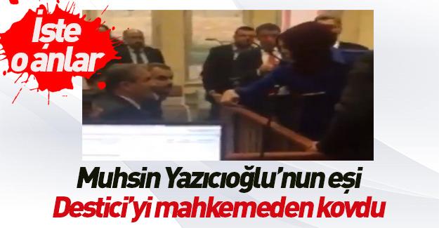 Muhsin Yazıcıoğlu davasında gerginlik çıktı