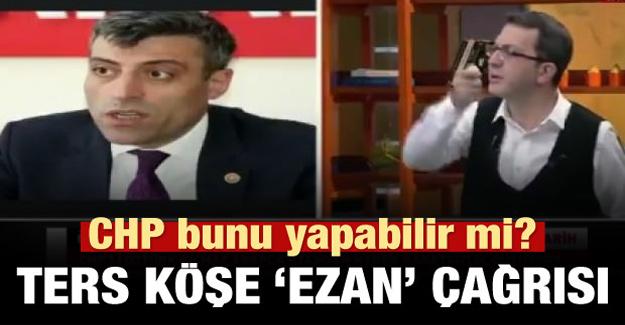Turgay Güler'den Chp'ye ters köşe