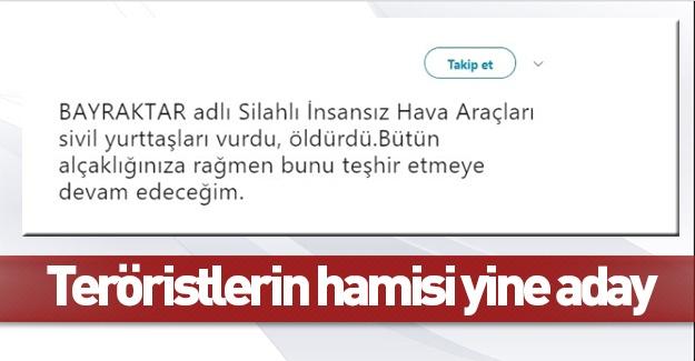 PKK sever vekil yeniden aday