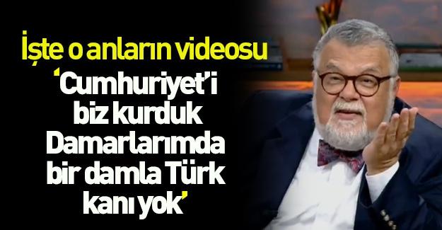 """""""Damarlarımda bir damla Türk kanı yok"""""""